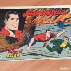 Tebeos: JUAN CENTELLA Nº 25 LLAMAS SOBRE EL AGUA (ORIGINAL HISPANO AMERICANA) (COIB23). Lote 173597937