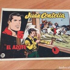 Tebeos: JUAN CENTELLA Nº 31 EL AZOTE (ORIGINAL HISPANO AMERICANA) (COIB23). Lote 173598083
