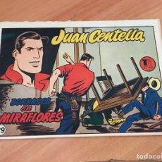 Tebeos: JUAN CENTELLA Nº 29 BORRASCA EN MIRAFLORES (ORIGINAL HISPANO AMERICANA) (COIB23). Lote 173598199