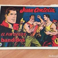 Tebeos: JUAN CENTELLA Nº 36 EL FIN DE LOS BANDIDOS (ORIGINAL HISPANO AMERICANA) (COIB23). Lote 173598268