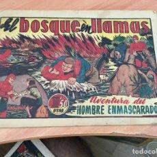 Tebeos: EL HOMBRE ENMASCARADO Nº 45 EL BOSQUE EN LLAMAS (ORIGINAL HISPANO AMERICANA) (COIB23). Lote 173605695