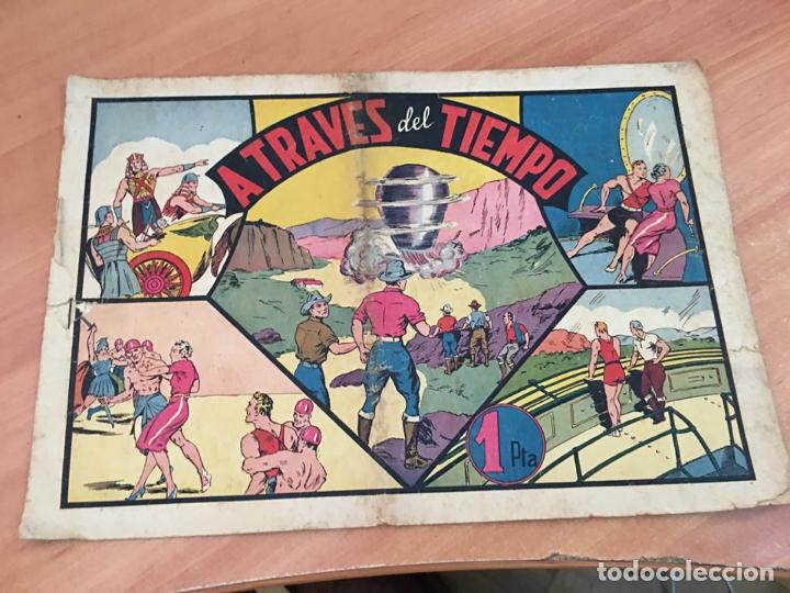 CARLOS EL INTREPIDO Nº 12 A TRAVES DEL TIEMPO (ORIGINAL HISPANO AMERICANA) (COIB23) (Tebeos y Comics - Hispano Americana - Carlos el Intrépido)