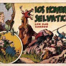 Tebeos: LOS HOMBRES SELVATICOS. FLAS GORDON (HISPANO AMERICANA, 1942) DE ALEX RAYMOND. 24 X 34 CMS. Lote 173608343