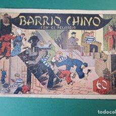 Tebeos: RICARDO BARRIO (1941, HISPANO AMERICANA) 4 · 1941 · BARRIO CHINO ¡¡¡¡ ÚLTIMO !!!!!!. Lote 173658033