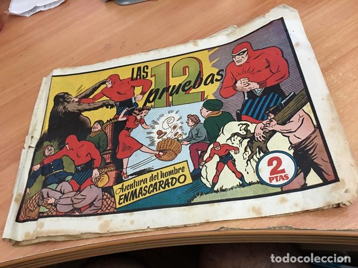 EL HOMBRE ENMASCARADO Nº 103 LAS 12 PRUEBAS (ORIGINAL HISPANO AMERICANA) (COIB25) (Tebeos y Comics - Hispano Americana - Hombre Enmascarado)