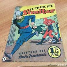 Tebeos: HOMBRE ENMASCARADO Nº 1 EL PRINCIPE SIMITAR (ORIGINAL HISPANO AMERICANA) (COIB25). Lote 173844978