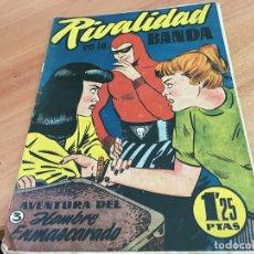 Tebeos: HOMBRE ENMASCARADO Nº 3 RIVALIDAD EN LA BANDA (ORIGINAL HISPANO AMERICANA) (COIB25). Lote 173845155