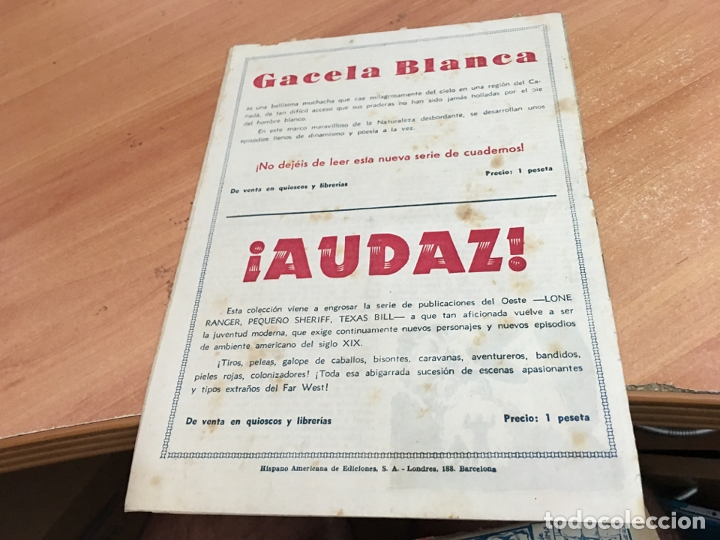 Tebeos: HOMBRE ENMASCARADO Nº 6 DOBLE ARDID (ORIGINAL HISPANO AMERICANA) (COIB25) - Foto 2 - 173845693