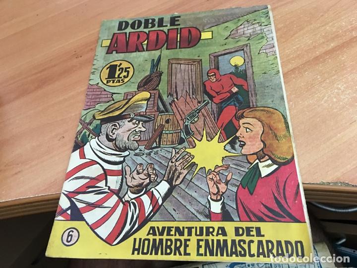 HOMBRE ENMASCARADO Nº 6 DOBLE ARDID (ORIGINAL HISPANO AMERICANA) (COIB25) (Tebeos y Comics - Hispano Americana - Hombre Enmascarado)