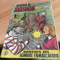 Tebeos: HOMBRE ENMASCARADO Nº 6 DOBLE ARDID (ORIGINAL HISPANO AMERICANA) (COIB25). Lote 173845693