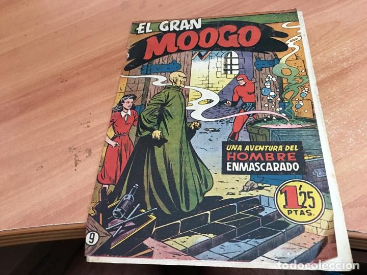 HOMBRE ENMASCARADO Nº 9 EL GRAN MOOGO (ORIGINAL HISPANO AMERICANA) (COIB25) (Tebeos y Comics - Hispano Americana - Hombre Enmascarado)