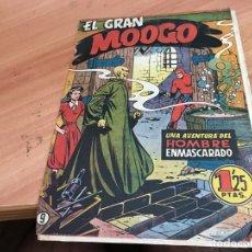 Tebeos: HOMBRE ENMASCARADO Nº 9 EL GRAN MOOGO (ORIGINAL HISPANO AMERICANA) (COIB25). Lote 173845757