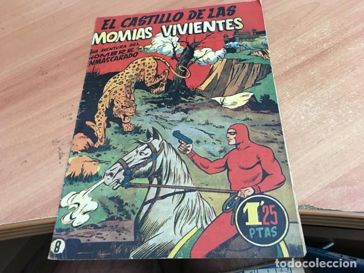 HOMBRE ENMASCARADO Nº 8 MOMIAS VIVIENTES (ORIGINAL HISPANO AMERICANA) (COIB25) (Tebeos y Comics - Hispano Americana - Hombre Enmascarado)