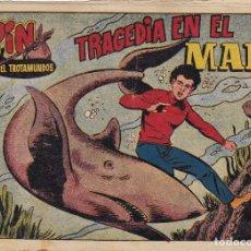 Tebeos: PIN EL TROTAMUNDOS Nº 15 TRAGEDIA EN EL MAR EL DE LA FOTO VER FOTO ADICIONAL CONTRAPORTADA. Lote 173918227