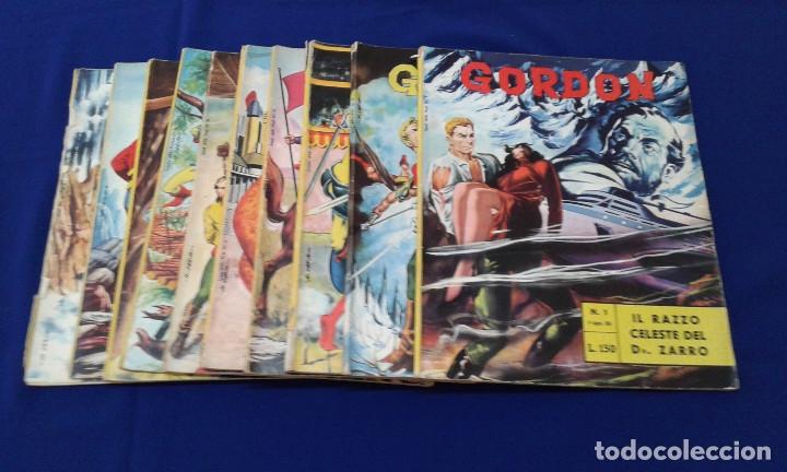 COMICS FLAS GORDON LOTE VERSION ITALIANA 1964 -FUMETTI DELL'ANNO 1964 LINGUA ITALIANA (Tebeos y Comics - Hispano Americana - Flash Gordon)