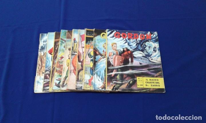 Tebeos: COMICS FLAS GORDON LOTE VERSION ITALIANA 1964 -FUMETTI DELLANNO 1964 LINGUA ITALIANA - Foto 2 - 173927059