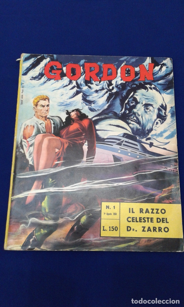 Tebeos: COMICS FLAS GORDON LOTE VERSION ITALIANA 1964 -FUMETTI DELLANNO 1964 LINGUA ITALIANA - Foto 3 - 173927059