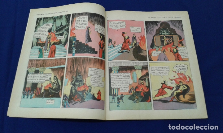 Tebeos: COMICS FLAS GORDON LOTE VERSION ITALIANA 1964 -FUMETTI DELLANNO 1964 LINGUA ITALIANA - Foto 7 - 173927059