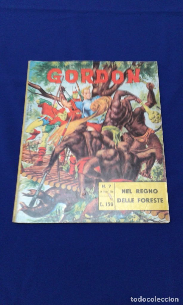 Tebeos: COMICS FLAS GORDON LOTE VERSION ITALIANA 1964 -FUMETTI DELLANNO 1964 LINGUA ITALIANA - Foto 21 - 173927059