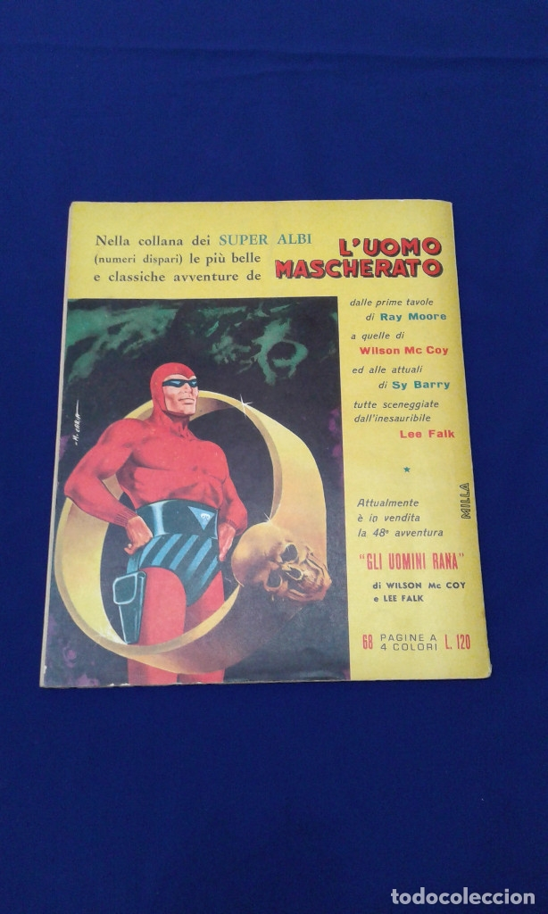 Tebeos: COMICS FLAS GORDON LOTE VERSION ITALIANA 1964 -FUMETTI DELLANNO 1964 LINGUA ITALIANA - Foto 29 - 173927059