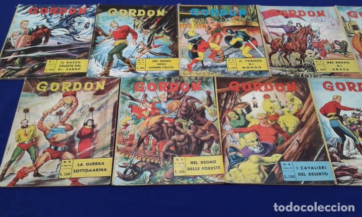 Tebeos: COMICS FLAS GORDON LOTE VERSION ITALIANA 1964 -FUMETTI DELLANNO 1964 LINGUA ITALIANA - Foto 33 - 173927059