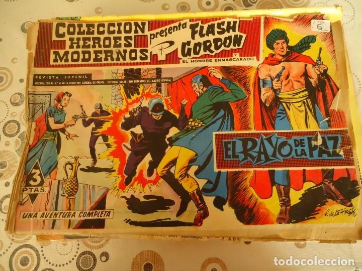 FLASCH GORDON ORIGINAL , EL RAYO DE LA PAZ (Tebeos y Comics - Hispano Americana - Flash Gordon)