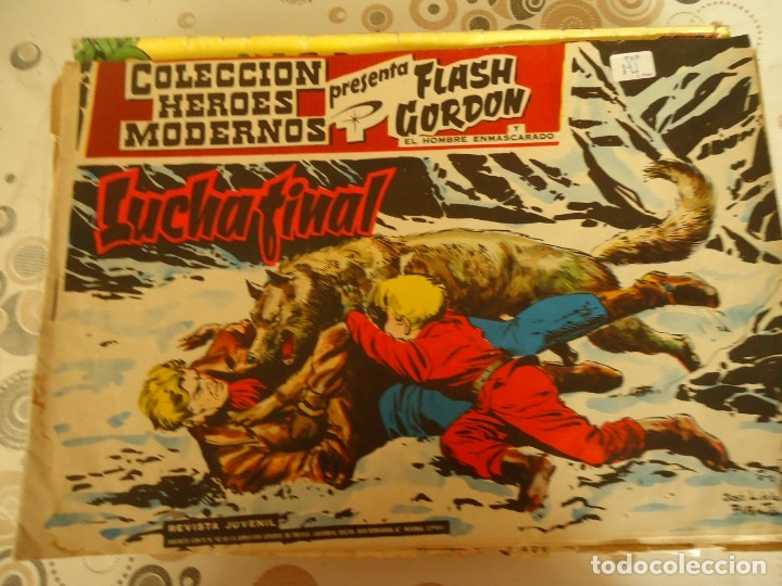 FLASCH GORDON LUCHA FINAL Nº 24 (Tebeos y Comics - Hispano Americana - Flash Gordon)