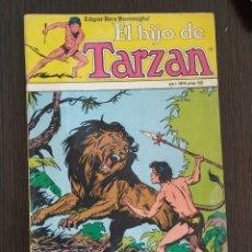 Tebeos: EL HIJO DE TARZAN. VOLUMEN 1, NUMERO 4. . Lote 174482227