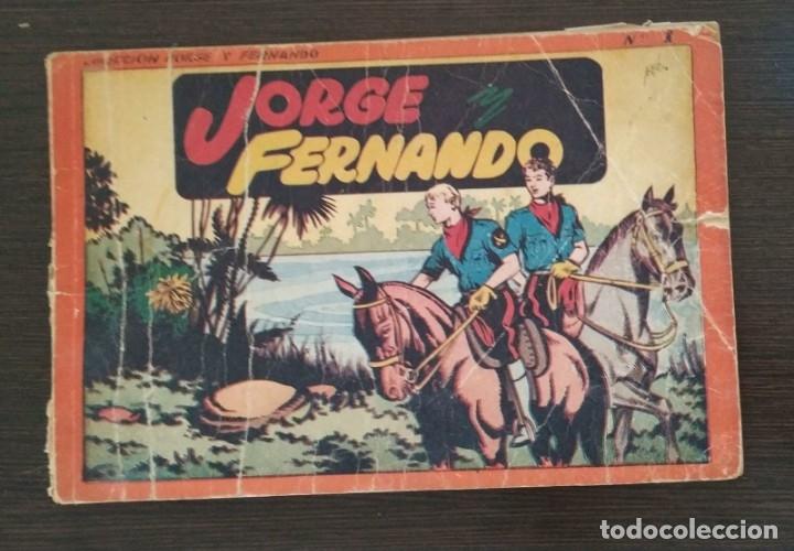 JORGE FERNANDO. ALBUM NUMERO 1. (Tebeos y Comics - Hispano Americana - Jorge y Fernando)