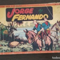 Tebeos: JORGE FERNANDO. ALBUM NUMERO 1. . Lote 174483134