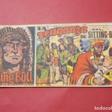 Tebeos: SITTING BULL Nº 26 - LA VENGANZA DE SITTING BULL - EDICIONES HISPANO AMERICANA - 8 X 17 CM... L299. Lote 175023888