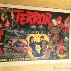 Tebeos: HOMBRE ENMASCARADO - TERROR EN LA SELVA. Lote 175129769