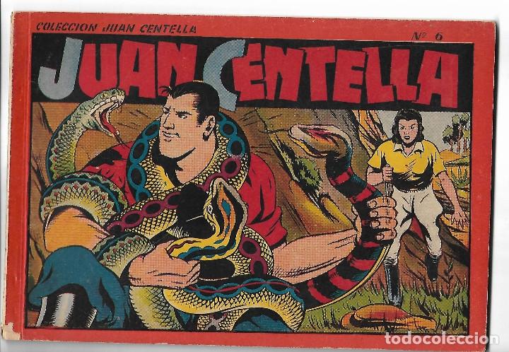 JUAN CENTELLA - ALBUM ROJO Nº 6 - ORIGINAL (Tebeos y Comics - Hispano Americana - Juan Centella)