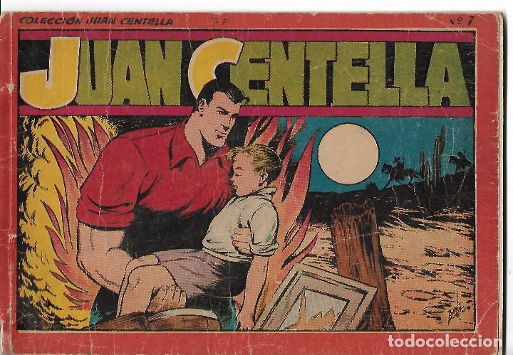 JUAN CENTELLA - ALBUM ROJO Nº 7 - ORIGINAL (Tebeos y Comics - Hispano Americana - Juan Centella)