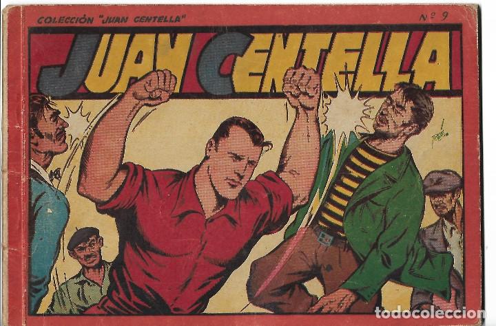 JUAN CENTELLA - ALBUM ROJO Nº 9 - ORIGINAL (Tebeos y Comics - Hispano Americana - Juan Centella)