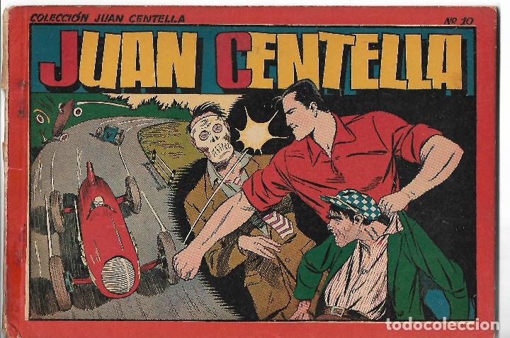 JUAN CENTELLA - ALBUM ROJO Nº 10 - ORIGINAL (Tebeos y Comics - Hispano Americana - Juan Centella)