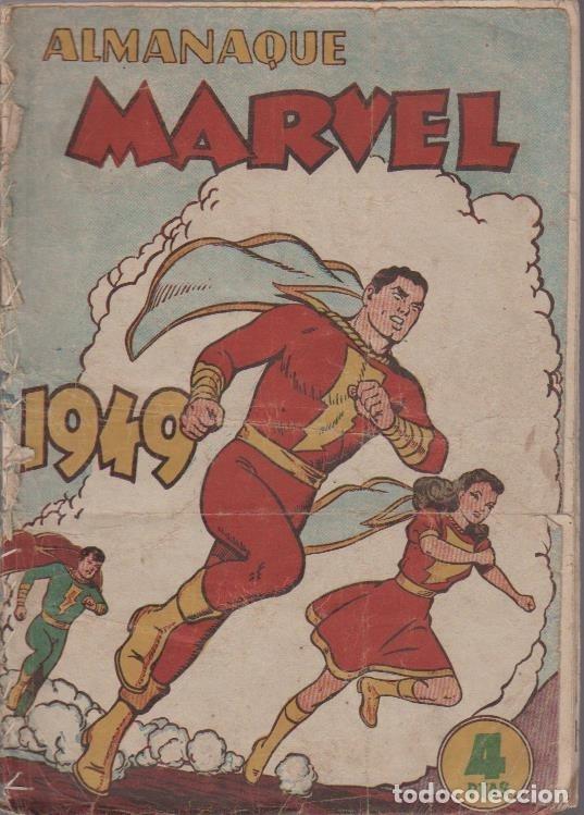Tebeos: EL CAPITAN MARVEL ((HISPANO AMERICANA DE EDICIONES) OGINALES 1947 LOTE - Foto 3 - 27482892