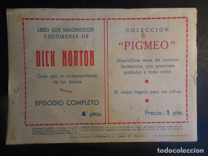 Tebeos: TOM BILL, EL CANTO DE LA LECHUZA, Nº 49 , AVENTURAS EXTRAORDINARIAS, HISPANO AMERICANA , VER FOTOS - Foto 6 - 175608254