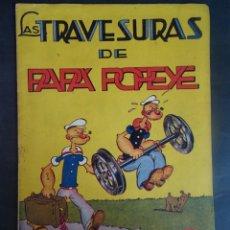 Tebeos: ANTIGUO TEBEO LAS TRAVESURAS DE PAPÁ POPEYE , COLECCIÓN AUDAZ, ED HISPANO AMERICANA ,60 CÉNTS. Lote 175696932
