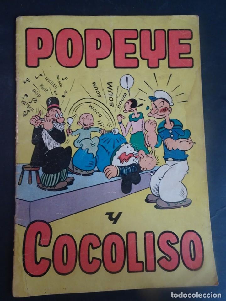 ANTIGUO TEBEO POPEYE Y COCOLISO , ED HISPANO AMERICANA , VER FOTOS (Tebeos y Comics - Hispano Americana - Otros)