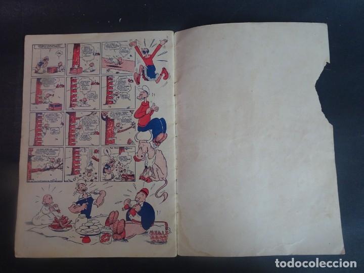 Tebeos: ANTIGUO TEBEO POPEYE Y COCOLISO , ED HISPANO AMERICANA , VER FOTOS - Foto 5 - 175700483