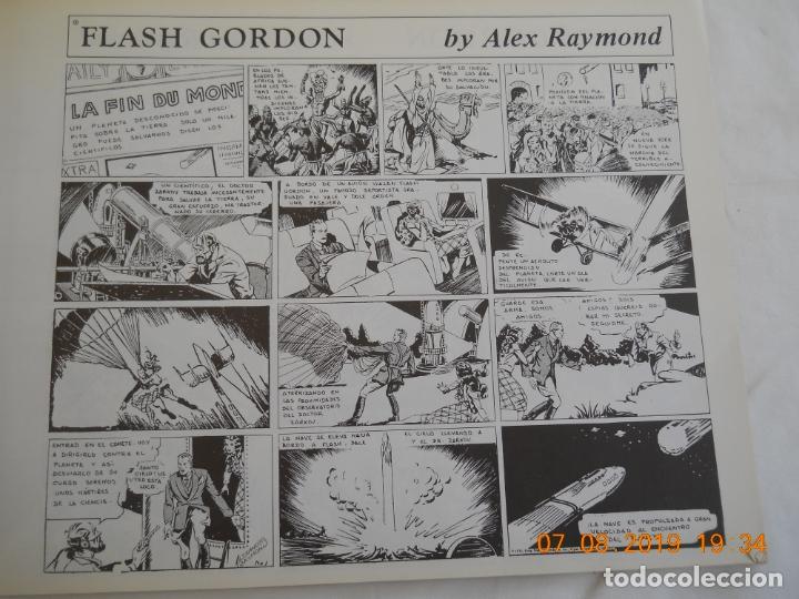 Tebeos: FLASH GORDON , ALEX RAYMOND VOLUMEN I EDICIONES B.O. - Foto 3 - 175703982