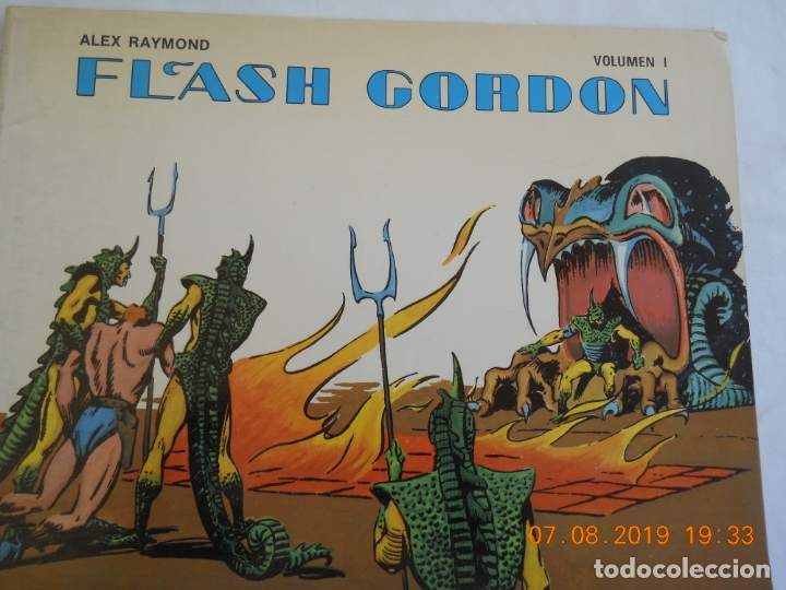 FLASH GORDON , ALEX RAYMOND VOLUMEN I EDICIONES B.O. (Tebeos y Comics - Hispano Americana - Flash Gordon)