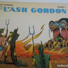 Tebeos: FLASH GORDON , ALEX RAYMOND VOLUMEN I EDICIONES B.O.. Lote 175703982