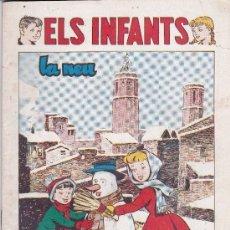 Tebeos: ELS INFANTS - LA NEU - Nº 8. Lote 176056709
