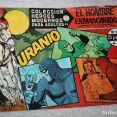Tebeos: 1958 EL HOMBRE ENMASCARADO NUMERO 43 A - COLECCION HEROES MODERNOS. Lote 176180892