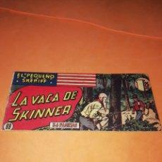 Tebeos: EL PEQUEÑO SHERIFF Nº89 - EDICIONES HISPANO AMERICANA S.A- LA VACA DE SKINNER. Lote 176343542