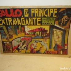 Tebeos: MERLIN REY MAGIA PAULO EL PRINCIPE EXTRAVAGANTE AÑOS 40 EDI,HISPANO AMERICANA MUY BUEN ESTADO,BARATO. Lote 176513268