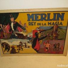 Tebeos: MERLIN REY DE LA MAGIA Nº 1 AÑOS 40 EDI,HISPANO AMERICANA MUY BUEN ESTADO,BARATO. Lote 176513439