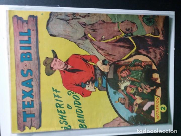 Tebeos: 34 EJEMPLARES DE TEXAS BILL VERTICALES 1954 - Foto 2 - 176591105